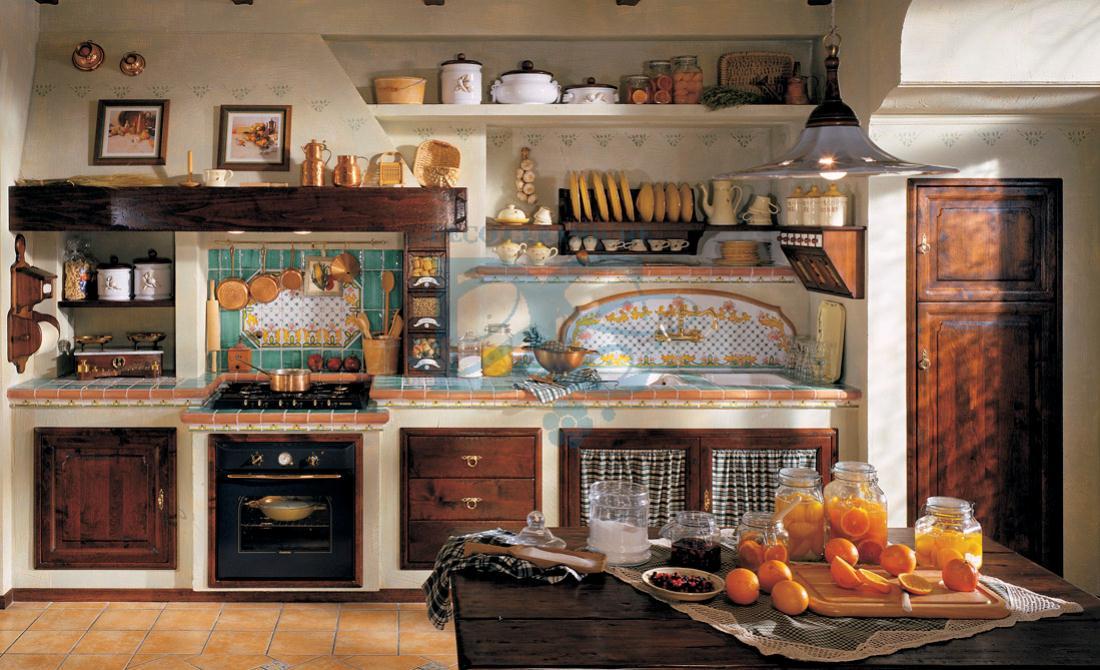 Cucine arte povera berloni