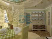 French kitchen (cir)